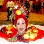 Carmen Miranda Buffet Head