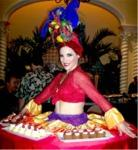 Carmen Miranda Living Table