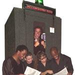 Mobile CD Recording Booth