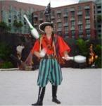Pirate Juggler